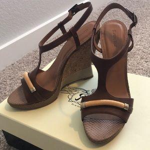Rachel Roy Terese sandal wedge espadrille 9